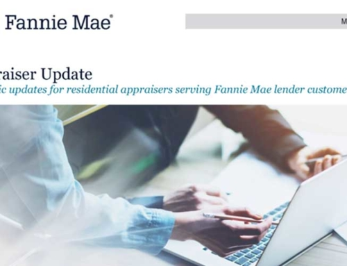 Fannie Mae Gets Proactive with Appraisal Industry
