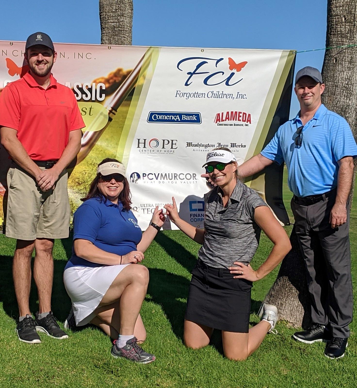 PCV Murcor's FCI Charity Golf Classic Foursome