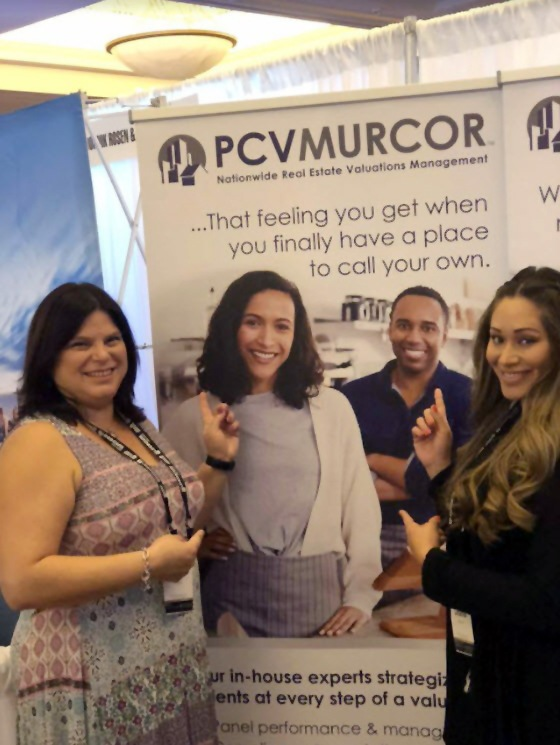Cindy and Lucee at PCV Murcor Booth