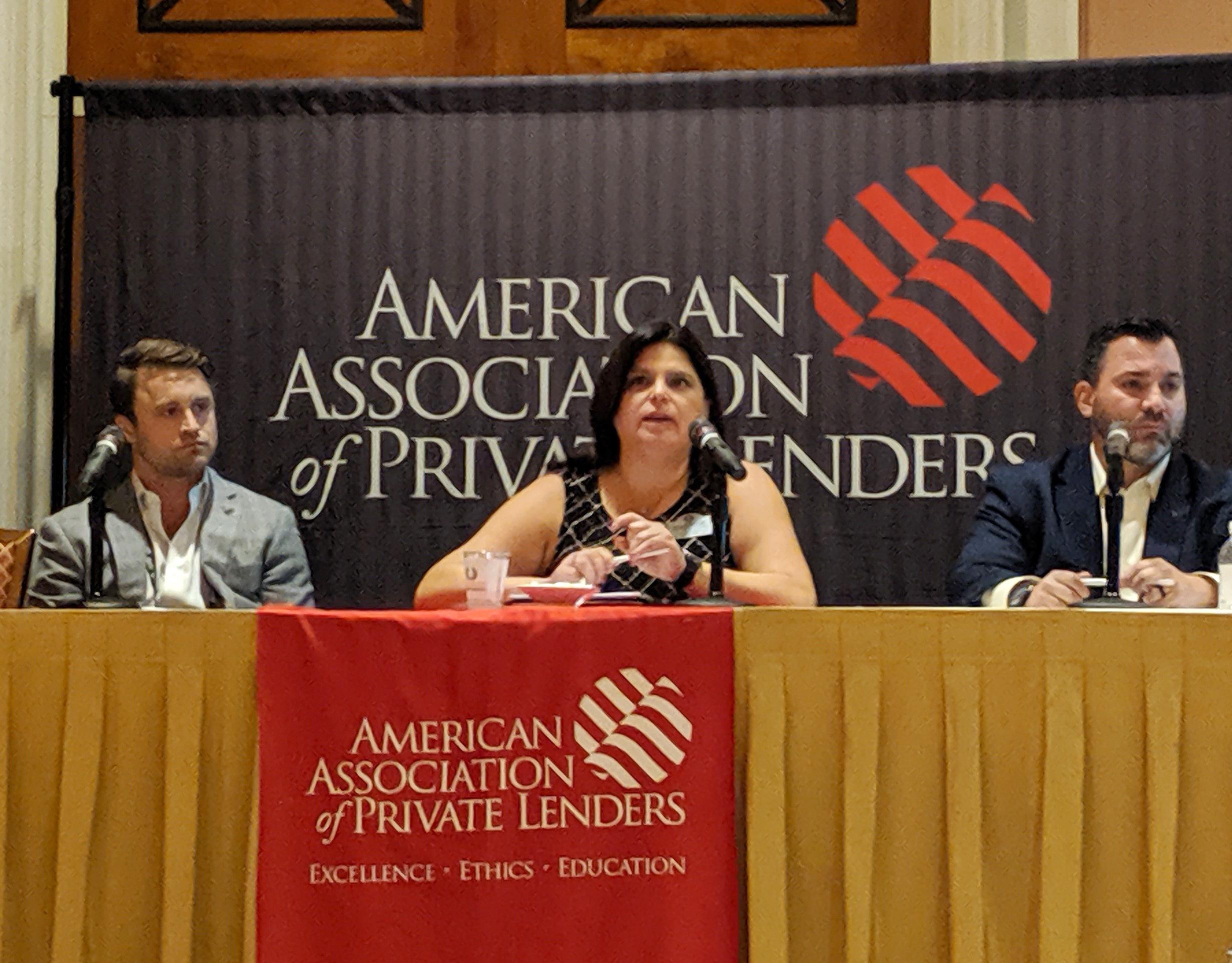 Cindy Nasser on the Asset Valuation Panel