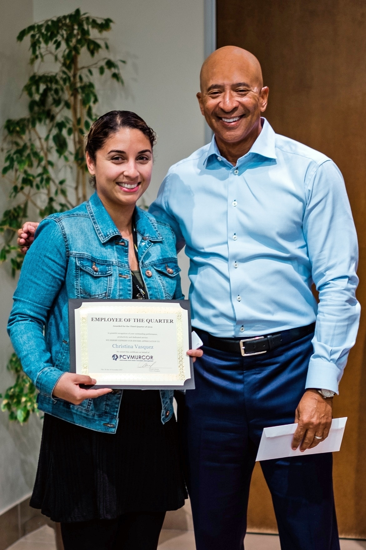 Christina Vasquez - Employee of the Quarter