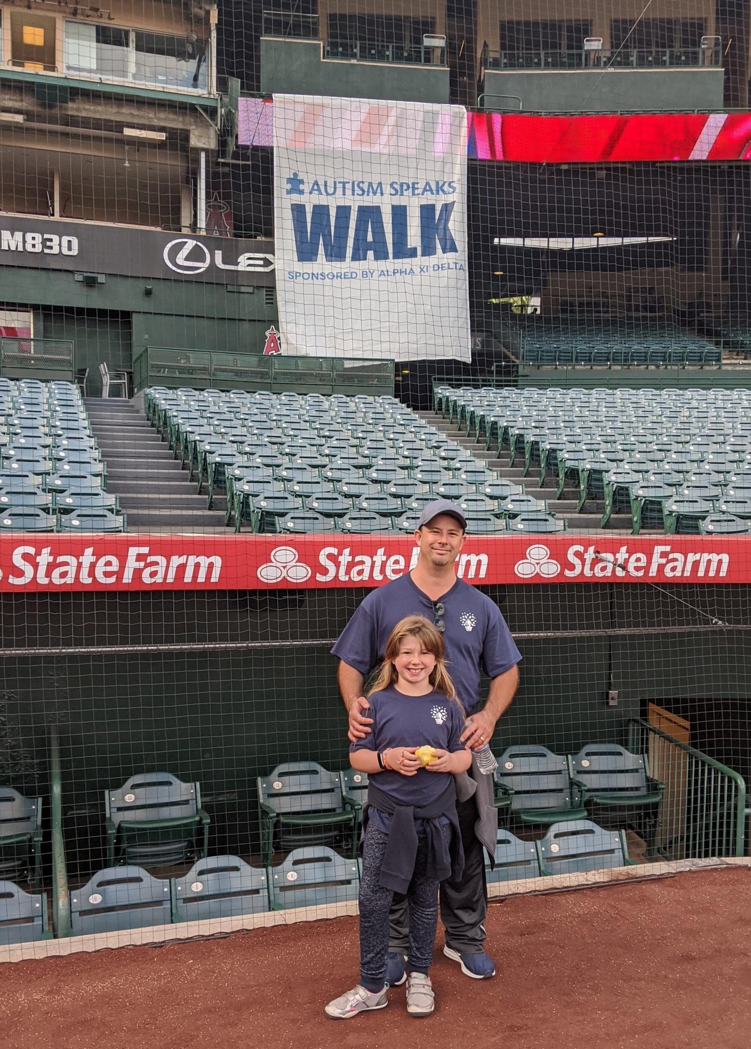 Autism Walk - Charles - Daughter