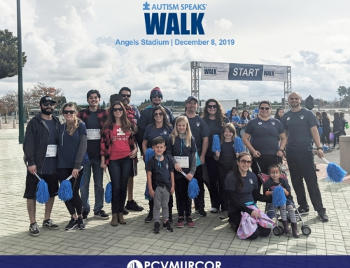 PCV Murcor Employees Walk in Support of Autism
