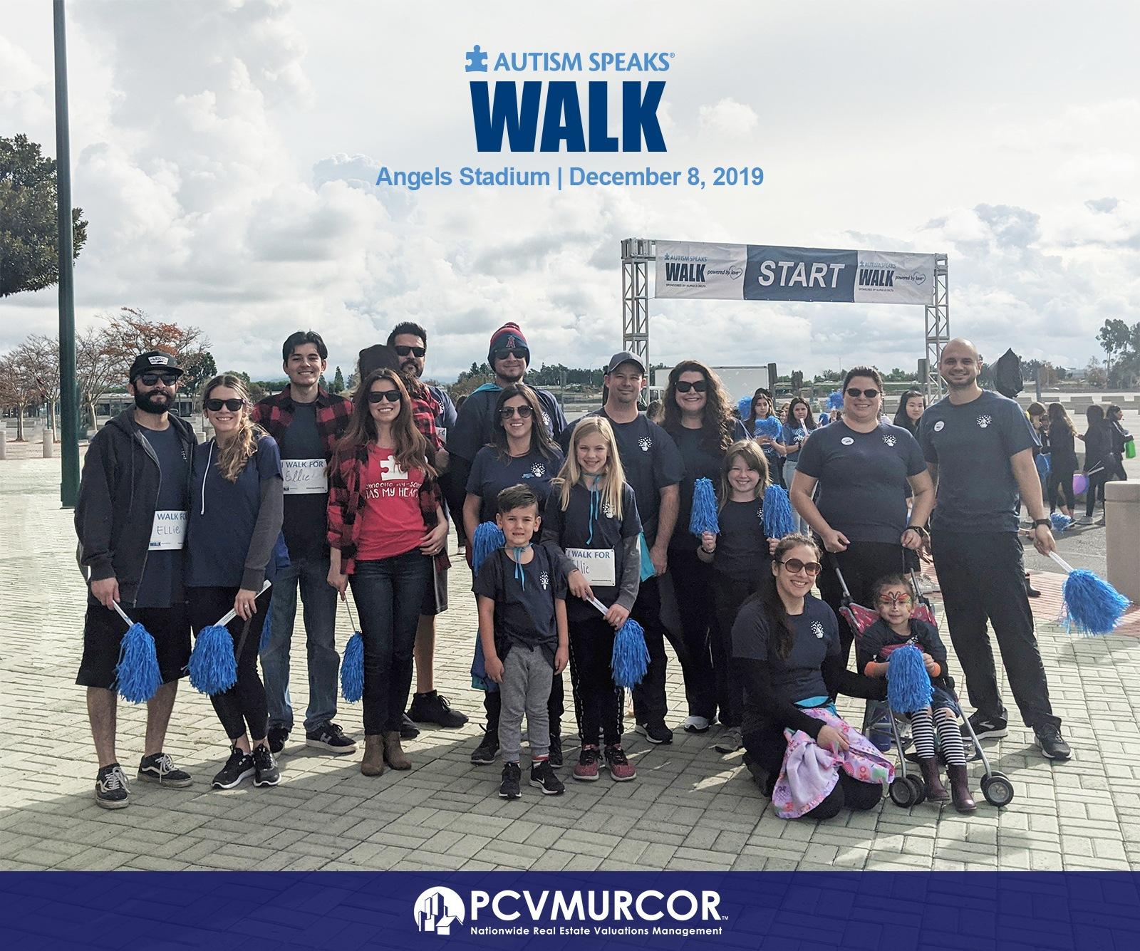 Autism Walk - Team PCV Murcor