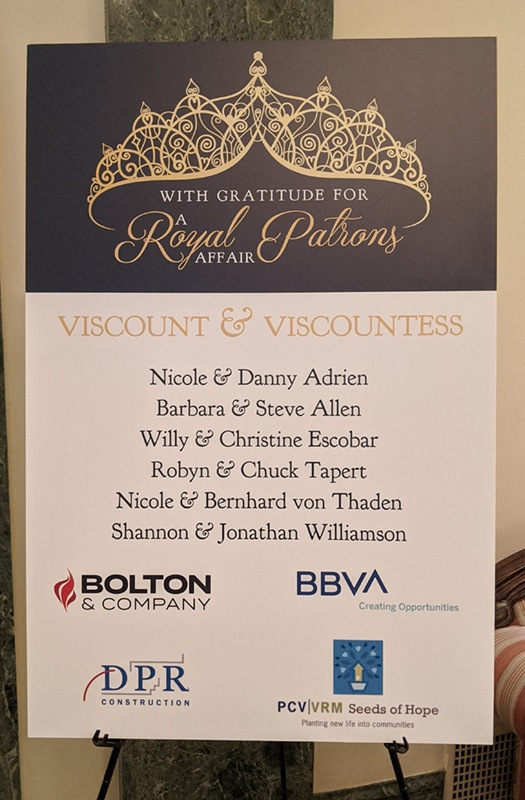 Royal Affair Gala Sponsors